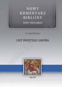 List św. Jakuba. Seria: Nowy komentarz - okładka książki