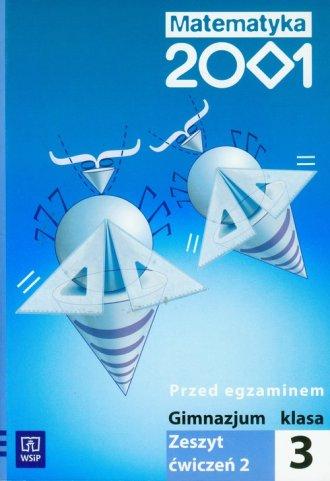 Matematyka 2001. Klasa 3. Gimnazjum. - okładka podręcznika