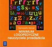Minimum logopedyczne nauczyciela przedszkola - okładka książki