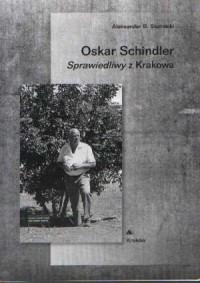 Oskar Schindler. Sprawiedliwy z Krakowa - okładka książki