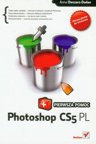 Photoshop CS5 PL. Pierwsza pomoc - okładka książki