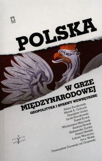 Polska w grze międzynarodowej. - okładka książki