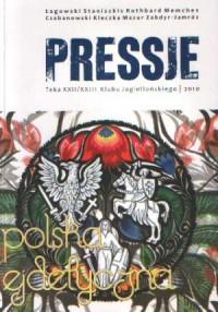 Pressje (22-23). Teka dwudziesta druga - dwudziesta trzecia. Polska ejdetyczna - okładka książki