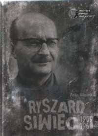 Ryszard Siwiec 1909-1968 (+ DVD) - okładka książki