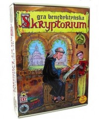 Skryptorium - gra benedyktyńska - zdjęcie zabawki, gry