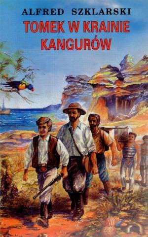 Tomek w krainie kangurów - okładka książki