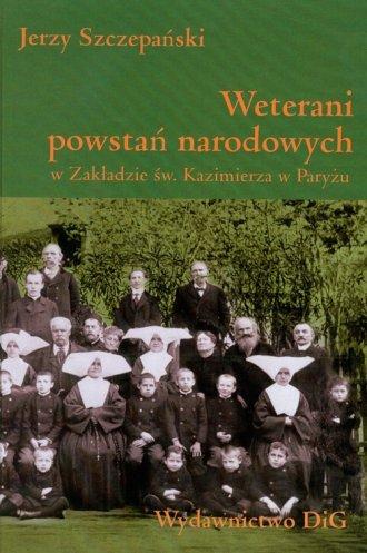 Weterani powstań narodowych - okładka książki