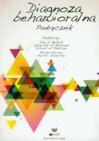 Diagnoza behawioralna. Podręcznik - okładka książki