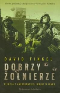 Dobrzy żołnierze - okładka książki