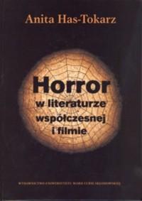 Horror w literaturze współczesnej i filmie - okładka książki