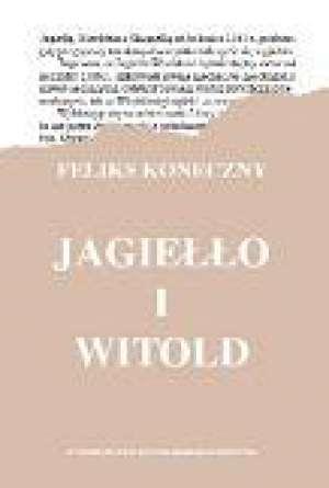 Jagiełło i Witold - okładka książki