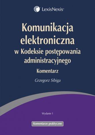 Komunikacja elektroniczna w Kodeksie - okładka książki