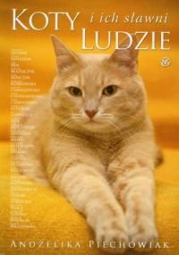 Koty i ich sławni ludzie - okładka książki