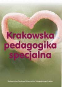 Krakowska pedagogika specjalna - okładka książki