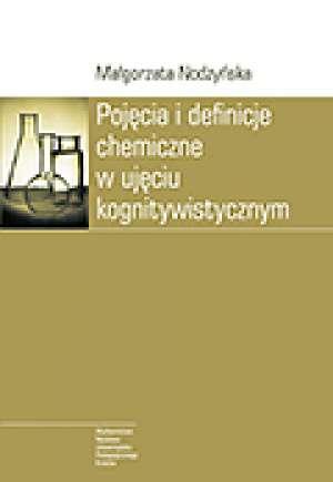Pojęcia i definicje chemiczne w - okładka książki