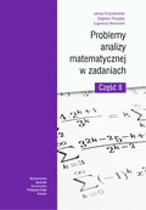 Problemy analizy matematycznej - okładka książki
