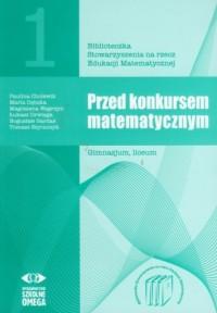 Przed konkursem matematycznym - okładka podręcznika