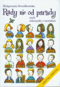 Rady nie od parady, czyli wierszyki - okładka książki