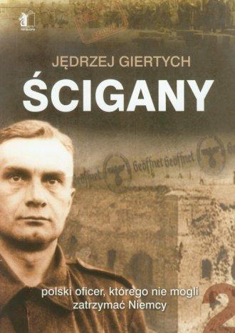 Ścigany - polski oficer, którego - okładka książki