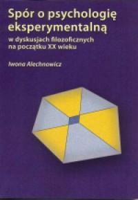 Spór o psychologię eksperymentalną - okładka książki