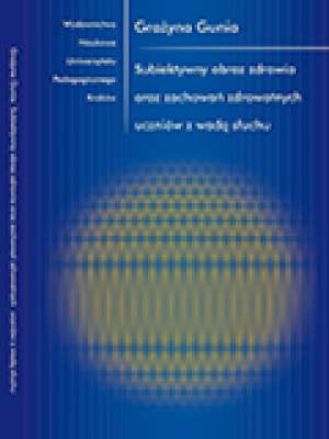 Subiektywny obraz zdrowia oraz - okładka książki
