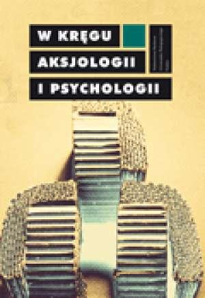 W kręgu aksjologii i psychologii - okładka książki