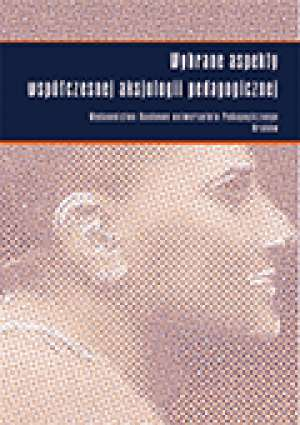Wybrane aspekty współczesnej aksjologii - okładka książki