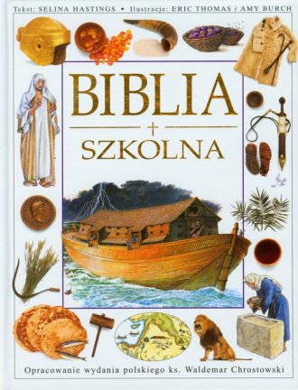 Biblia szkolna - okładka książki
