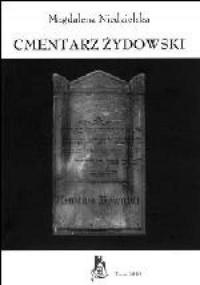 Cmentarz żydowski - okładka książki