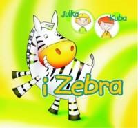 Julka Kuba i Zebra - okładka książki