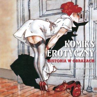 Komiks erotyczny. Tom 1. Historia - okładka książki