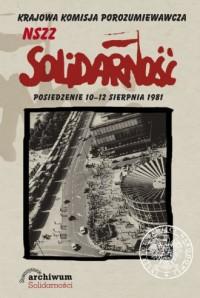 Krajowa Komisja Porozumiewawcza NSZZ Solidarność - okładka książki