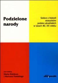 Podzielone narody - okładka książki