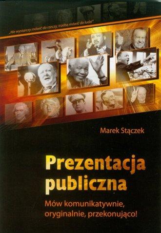 Prezentacja publiczna - okładka książki