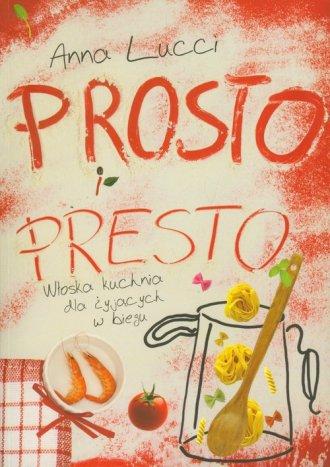 Prosto i presto - okładka książki
