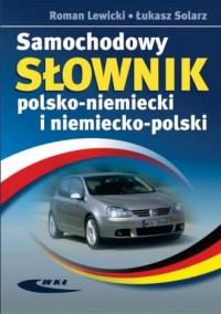 Samochodowy słownik polsko niemiecki - okładka książki