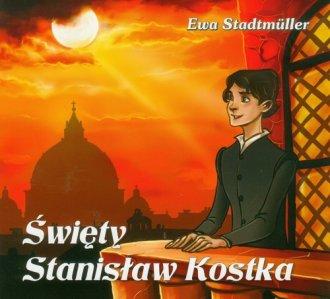 Święty Stanisław Kostka - okładka książki