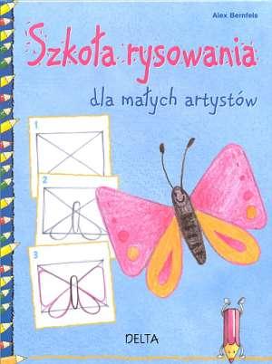 Szkoła rysowania dla małych artystów - okładka książki