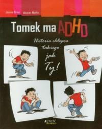 Tomek ma ADHD - okładka książki