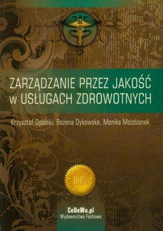 Zarządzanie przez jakość w usługach - okładka książki