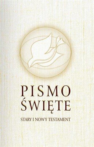 Pismo Święte. Stary i Nowy Testament - okładka książki