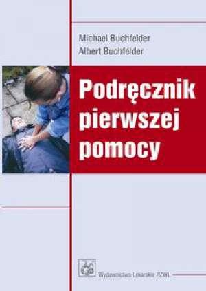 Podręcznik pierwszej pomocy - okładka książki