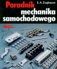 Poradnik mechanika samochodowego - okładka książki
