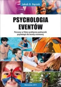 Psychologia eventów - okładka książki