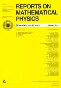 Reports on Mathematical Physics 67/1 Kraj - okładka książki