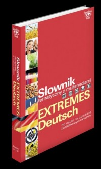 Słownik tematyczny z multimediami Extremes Deutsch - okładka książki