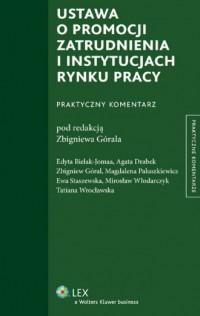 Ustawa o promocji zatrudnienia - okładka książki