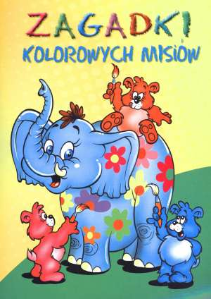 Zagadki kolorowych misiów - okładka książki
