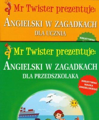 Angielski w zagadkach dla przedszkolaka. - okładka podręcznika