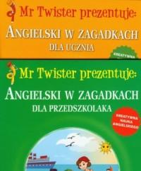 Angielski w zagadkach dla przedszkolaka. Angielski w zagadkach dla ucznia - okładka podręcznika